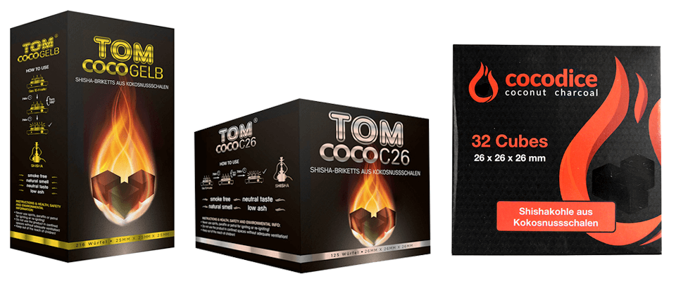 Kokosové uhlie od výrobcu Aladin