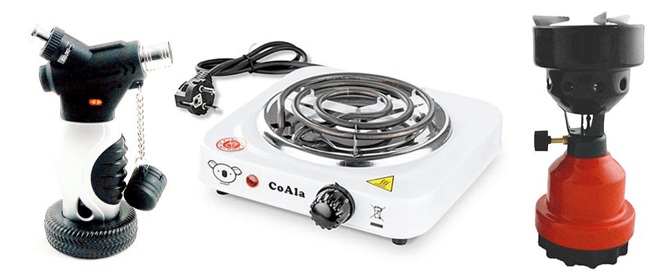 Rozpaľovače uhlia od výrobcu Aladin - tryskový zapaľovač, elektrická CoAla a plynový žhavič