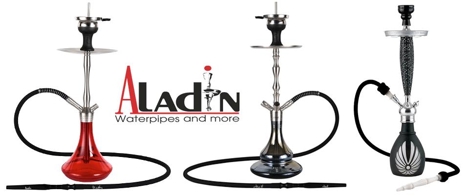 Vodné fajky od výrobcu Aladin